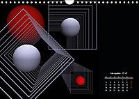 Mit Geometrie durch das Jahr (Wandkalender 2019 DIN A4 quer) - Produktdetailbild 11
