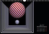 Mit Geometrie durch das Jahr (Wandkalender 2019 DIN A4 quer) - Produktdetailbild 6