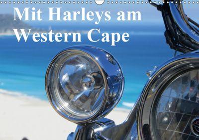 Mit Harleys am Western Cape (Wandkalender 2019 DIN A3 quer), Sandro Iffert