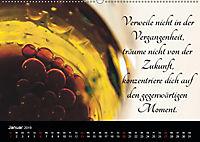 Mit Sprüchen und Weisheiten durch's Jahr (Wandkalender 2019 DIN A2 quer) - Produktdetailbild 1