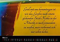 Mit Sprüchen und Weisheiten durch's Jahr (Wandkalender 2019 DIN A2 quer) - Produktdetailbild 5
