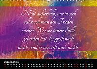 Mit Sprüchen und Weisheiten durch's Jahr (Wandkalender 2019 DIN A2 quer) - Produktdetailbild 12