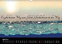 Mit Sprüchen und Weisheiten durch's Jahr (Wandkalender 2019 DIN A3 quer) - Produktdetailbild 4