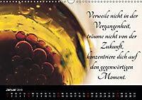 Mit Sprüchen und Weisheiten durch's Jahr (Wandkalender 2019 DIN A3 quer) - Produktdetailbild 1