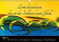 Mit Sprüchen und Weisheiten durch's Jahr (Wandkalender 2019 DIN A3 quer) - Produktdetailbild 3
