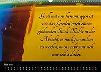 Mit Sprüchen und Weisheiten durch's Jahr (Wandkalender 2019 DIN A3 quer) - Produktdetailbild 5
