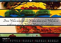 Mit Sprüchen und Weisheiten durch's Jahr (Wandkalender 2019 DIN A3 quer) - Produktdetailbild 8