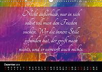 Mit Sprüchen und Weisheiten durch's Jahr (Wandkalender 2019 DIN A3 quer) - Produktdetailbild 12