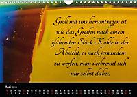 Mit Sprüchen und Weisheiten durch's Jahr (Wandkalender 2019 DIN A4 quer) - Produktdetailbild 5