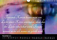 Mit Sprüchen und Weisheiten durch's Jahr (Wandkalender 2019 DIN A4 quer) - Produktdetailbild 11