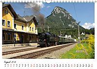 Mit Volldampf durch Österreich (Wandkalender 2019 DIN A4 quer) - Produktdetailbild 8