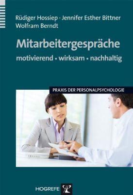 Mitarbeitergespräche, Rüdiger Hossiep, Jennifer E. Bittner, Berndt Wolfram