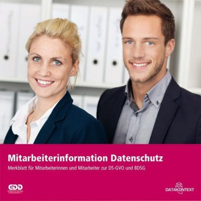 Mitarbeiterinformation Datenschutz