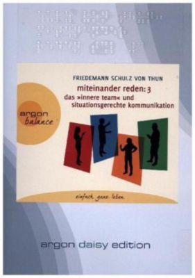 Miteinander reden, 1 MP3-CD (DAISY Edition), Friedemann Schulz Von Thun