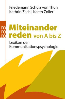 Miteinander reden von A bis Z, Friedemann Schulz Von Thun, Kathrin Zach, Karen Zoller