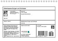 Mittelhessens Burgen und Schlösser (Tischkalender 2019 DIN A5 quer) - Produktdetailbild 13