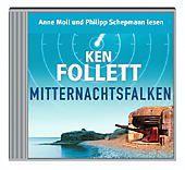 Mitternachtsfalken, 5 Audio-CDs, Ken Follett