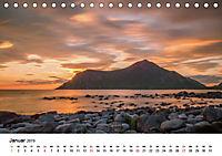 Mitternachtssonne - Magie aus Licht und Farben (Tischkalender 2019 DIN A5 quer) - Produktdetailbild 1