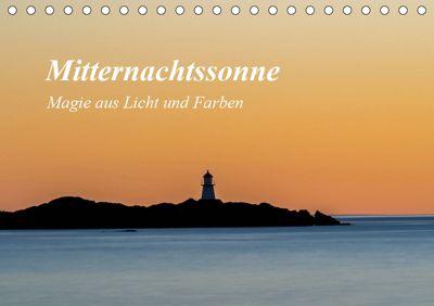 Mitternachtssonne - Magie aus Licht und Farben (Tischkalender 2019 DIN A5 quer), Christoph Ebeling