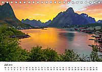Mitternachtssonne - Magie aus Licht und Farben (Tischkalender 2019 DIN A5 quer) - Produktdetailbild 7