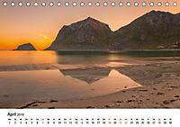 Mitternachtssonne - Magie aus Licht und Farben (Tischkalender 2019 DIN A5 quer) - Produktdetailbild 4