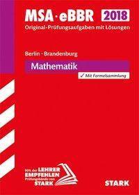 Mittlerer Schulabschluss 2018 - Berlin/Brandenburg - Mathematik