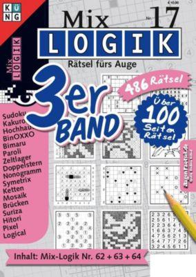 Mix Logik 3er-Band - Conceptis Puzzles |
