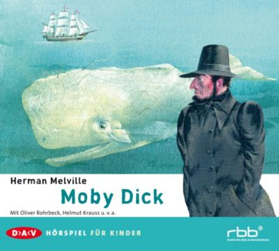 Moby Dick, 2 Audio-CDs, Herman Melville