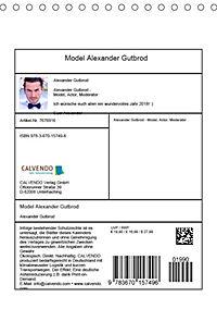 Model Alexander Gutbrod (Tischkalender 2019 DIN A5 hoch) - Produktdetailbild 13