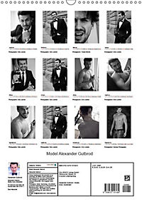 Model Alexander Gutbrod (Wandkalender 2019 DIN A3 hoch) - Produktdetailbild 4