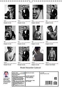 Model Alexander Gutbrod (Wandkalender 2019 DIN A3 hoch) - Produktdetailbild 13