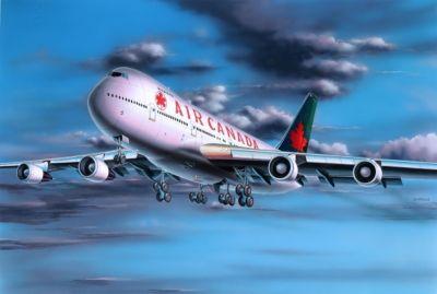 Model Set Boeing 747-200 1:390