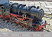 Modell-Lokomotiven beim Dampfmodellbautreffen in Bisingen (Wandkalender 2019 DIN A2 quer) - Produktdetailbild 1
