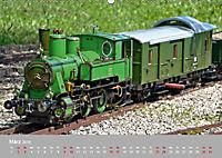 Modell-Lokomotiven beim Dampfmodellbautreffen in Bisingen (Wandkalender 2019 DIN A2 quer) - Produktdetailbild 3