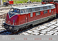 Modell-Lokomotiven beim Dampfmodellbautreffen in Bisingen (Wandkalender 2019 DIN A2 quer) - Produktdetailbild 4