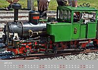 Modell-Lokomotiven beim Dampfmodellbautreffen in Bisingen (Wandkalender 2019 DIN A2 quer) - Produktdetailbild 7