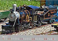 Modell-Lokomotiven beim Dampfmodellbautreffen in Bisingen (Wandkalender 2019 DIN A2 quer) - Produktdetailbild 5