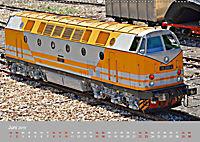 Modell-Lokomotiven beim Dampfmodellbautreffen in Bisingen (Wandkalender 2019 DIN A2 quer) - Produktdetailbild 6