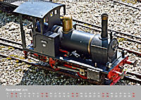Modell-Lokomotiven beim Dampfmodellbautreffen in Bisingen (Wandkalender 2019 DIN A2 quer) - Produktdetailbild 11
