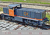 Modell-Lokomotiven beim Dampfmodellbautreffen in Bisingen (Wandkalender 2019 DIN A2 quer) - Produktdetailbild 10