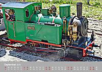 Modell-Lokomotiven beim Dampfmodellbautreffen in Bisingen (Wandkalender 2019 DIN A2 quer) - Produktdetailbild 9