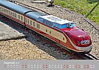 Modell-Lokomotiven beim Dampfmodellbautreffen in Bisingen (Wandkalender 2019 DIN A2 quer) - Produktdetailbild 12