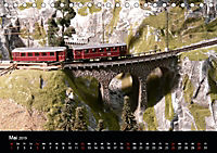 Modellbahn im Fokus (Tischkalender 2019 DIN A5 quer) - Produktdetailbild 5