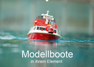 Modellboote in ihrem Element (Wandkalender 2019 DIN A2 quer), Thomas Quentin