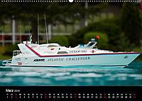 Modellboote in ihrem Element (Wandkalender 2019 DIN A2 quer) - Produktdetailbild 3