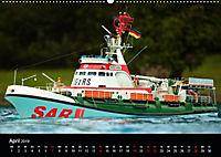 Modellboote in ihrem Element (Wandkalender 2019 DIN A2 quer) - Produktdetailbild 4