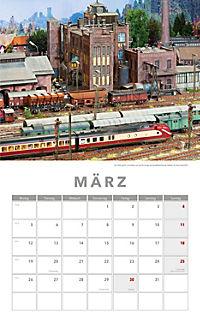 Modelleisenbahnen Kalender 2018 + 2 Blechschilder - Produktdetailbild 2