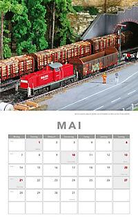 Modelleisenbahnen Kalender 2018 + 2 Blechschilder - Produktdetailbild 3