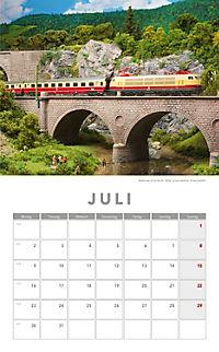 Modelleisenbahnen Kalender 2018 + 2 Blechschilder - Produktdetailbild 4