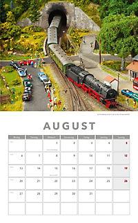Modelleisenbahnen Kalender 2018 + 2 Blechschilder - Produktdetailbild 5